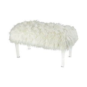 Zsa Bench - Medium White