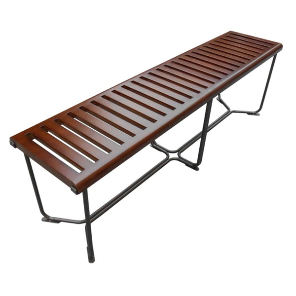 Solid Bench 60 Brown Wood