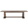 Hudson Large Dining Bench Rustic Java