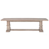 Hudson Large Dining Bench Stone Wash