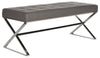 Micha Bench Grey