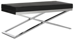 Acra Bench Black / Silver
