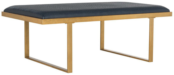 Millie Loft Bench / Coffee Table Navy Gold