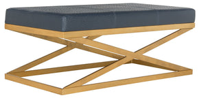 Alexes Bench Navy / Gold