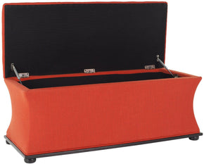 Aroura Storage Bench Orange