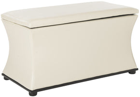 Aroura Storage Bench White