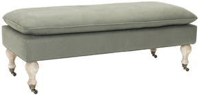 Hampton Pillowtop Bench Sea Mist