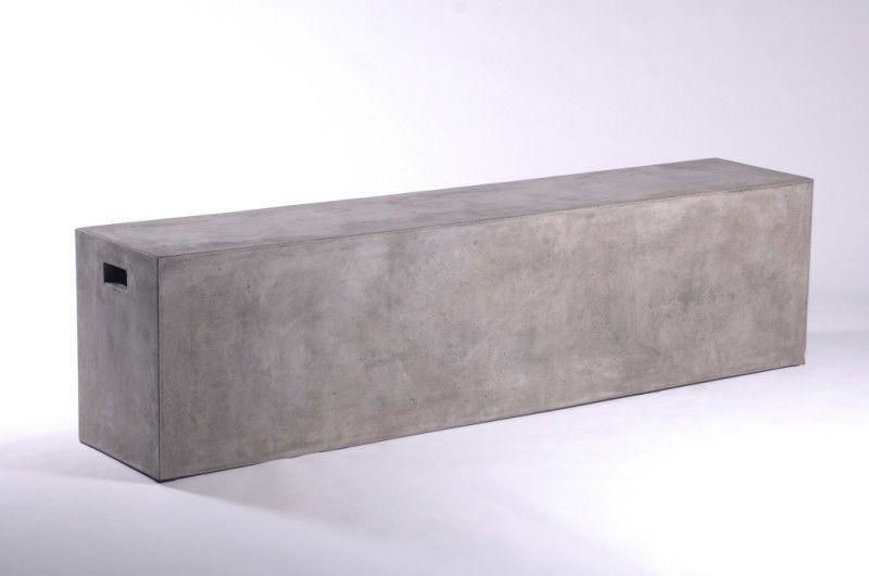 Modrest Yem Modern Concrete Bench
