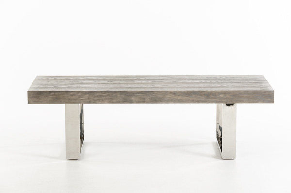 Modrest Lola Modern Grey Brush Bench