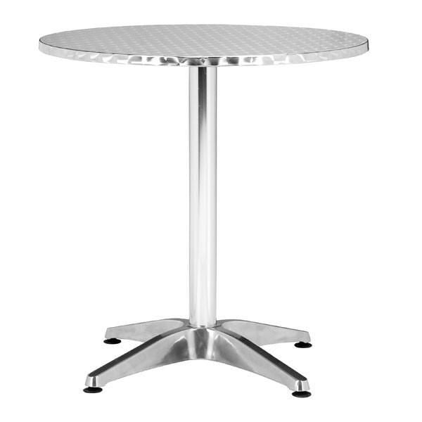 Christabel Round Table Aluminum Bistro