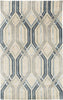 Black & Greys, Blues, Contemporary, Rugs, Tan & Neutrals - Surya BAN3390-23 Banshee Geometric Area Rug Blue, Gray | 888473426820 | Only $144.60. Buy today at http://www.contemporaryfurniturewarehouse.com