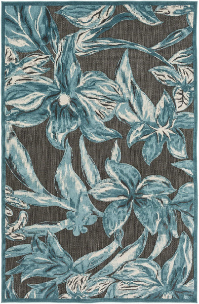 Portera Floral And Paisley Area Rug Blue