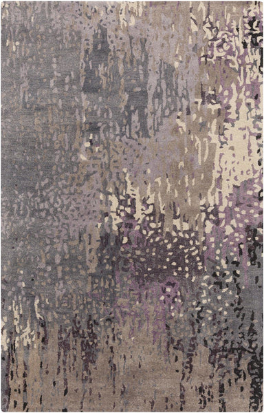 Black & Greys, Blues, Ivory & Whites, Modern, Purples, Rugs, Tan & Neutrals - Surya SRD2006-23 Serenade Area Rug Purple | 888473098546 | Only $194.40. Buy today at http://www.contemporaryfurniturewarehouse.com