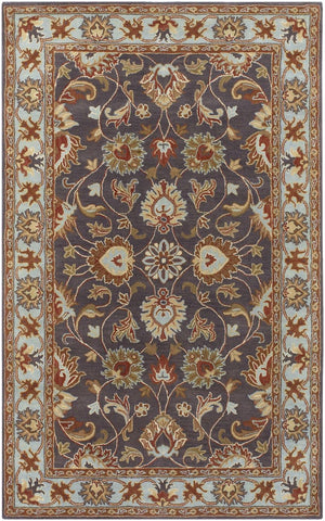 Black & Greys, Blues, Ivory & Whites, Oranges, Rugs, Tan & Neutrals, Traditional - Surya CAE1004-1014 Caesar Classic Area Rug Gray | 764262109450 | Only $1688.40. Buy today at http://www.contemporaryfurniturewarehouse.com