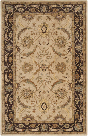 Clifton Classic Area Rug Neutral Brown
