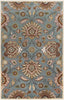 Black & Greys, Browns, Greens, Oranges, Rugs, Tan & Neutrals, Traditional - Surya CAE1052-1014 Caesar Classic Area Rug Blue | 764262463859 | Only $2052.00. Buy today at http://www.contemporaryfurniturewarehouse.com