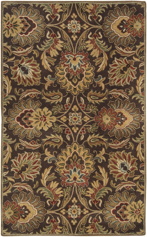 Black & Greys, Browns, Ivory & Whites, Reds, Rugs, Tan & Neutrals, Traditional - Surya CAE1028-1014 Caesar Classic Area Rug Brown | 764262328905 | Only $2052.00. Buy today at http://www.contemporaryfurniturewarehouse.com