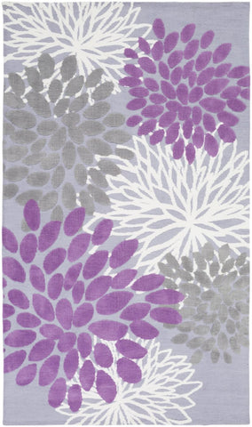 Black & Greys, Childrens, Ivory & Whites, Purples, Rugs - Surya ABI9055-23 Abigail Kids Area Rug Purple | 888473218500 | Only $54.60. Buy today at http://www.contemporaryfurniturewarehouse.com