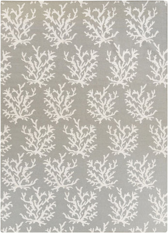 Boardwalk Coastal Area Rug Gray