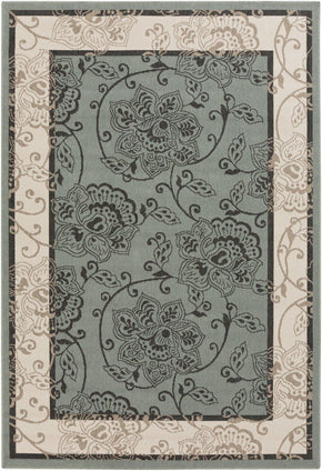 Black & Greys, Contemporary, Greens, Indoor/Outdoor, Rugs, Tan & Neutrals - Surya ALF9594-23119 Alfresco Area Rug Green | 764262741513 | Only $43.80. Buy today at http://www.contemporaryfurniturewarehouse.com