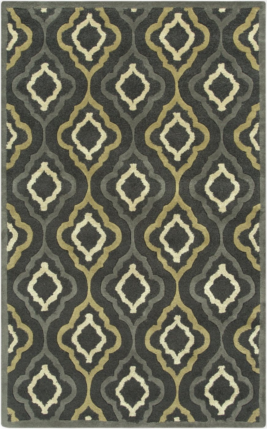Surya Blowout Sale Up To 70 Off Can2025 913 Modern Classics Geometric Area Rug Black Gray Only Only 2 821 80 At Contemporary Furniture Warehouse