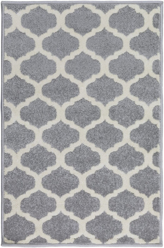 Black & Greys, Contemporary, Ivory & Whites, Rugs - Surya HRZ1001-2773 Horizon Geometric Area Rug Gray | 764262876895 | Only $99.60. Buy today at http://www.contemporaryfurniturewarehouse.com