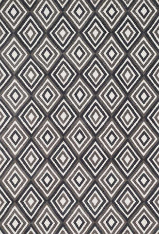 Loloi Cassidy Grey / Charcoal Area Rug
