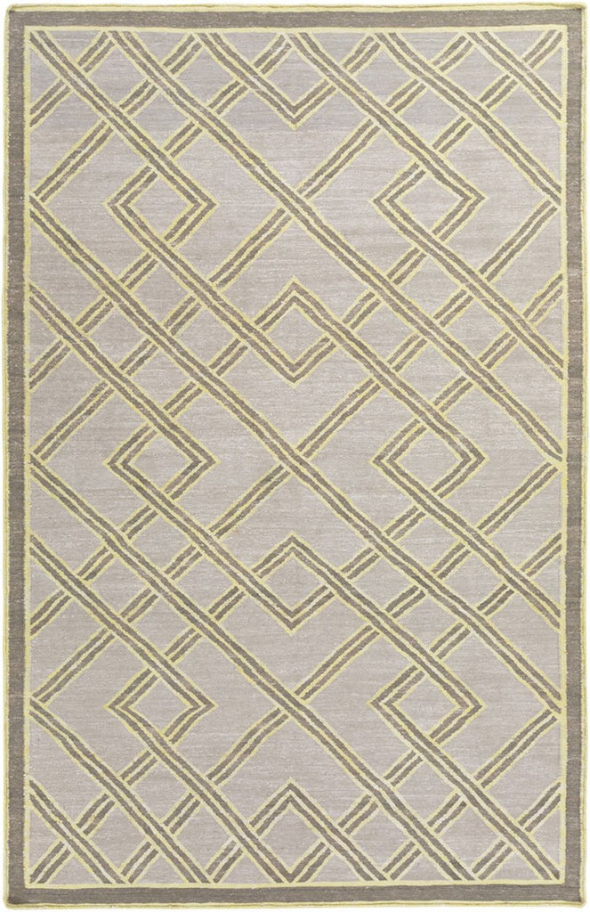 Brighton Geometric Area Rug Neutral Gray