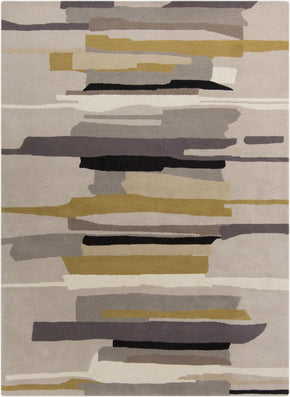 Black & Greys, Contemporary, Rugs, Tan & Neutrals - Surya HQL8022-23 Harlequin 0 Area Rug Gray, Neutral | 888473081432 | Only $144.60. Buy today at http://www.contemporaryfurniturewarehouse.com