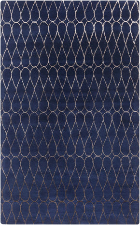 Naya Geometric Area Rug Blue