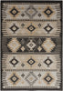 Black & Greys, Contemporary, Rugs, Tan & Neutrals - Surya PAR1046-23 Paramount Southwest Area Rug Gray, Black | 764262827606 | Only $28.80. Buy today at http://www.contemporaryfurniturewarehouse.com