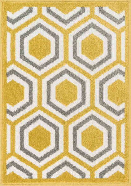 Loloi Terrace Citron / Grey Area Rug