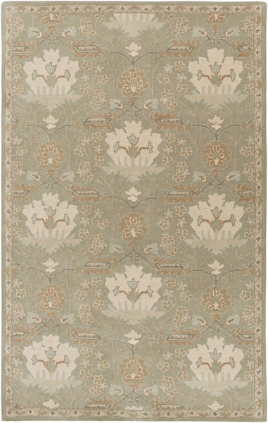 Caesar Classic Area Rug Green Neutral