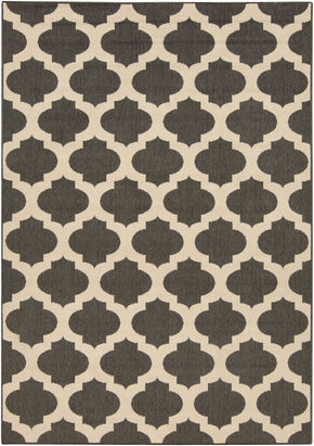 Black & Greys, Indoor/Outdoor, Ivory & Whites, Rugs - Surya ALF9584-2379 Alfresco Area Rug Black | 764262736106 | Only $43.80. Buy today at http://www.contemporaryfurniturewarehouse.com