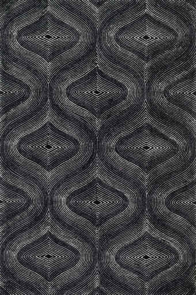 Loloi Boca Black / Grey Area Rug