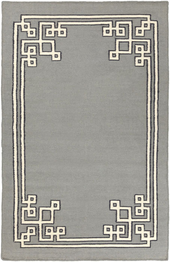 Alameda Geometric Area Rug Gray