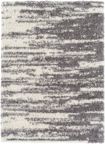Black & Greys, Ivory & Whites, Rugs, Shag - Surya WNF1000-237 Winfield Shag Area Rug Gray, Neutral | 888473505501 | Only $75.00. Buy today at http://www.contemporaryfurniturewarehouse.com