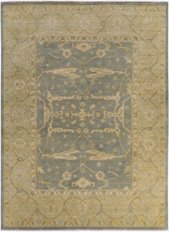 Ainsley Classic Area Rug Yellow Gray