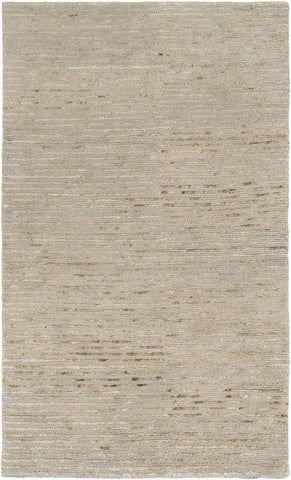 Blend Natural Fibers Area Rug Gray