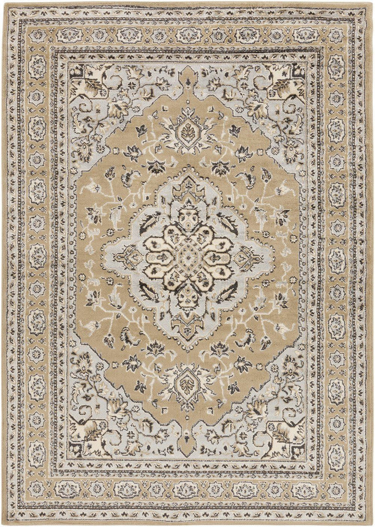 Paramount Classic Area Rug Gray Brown