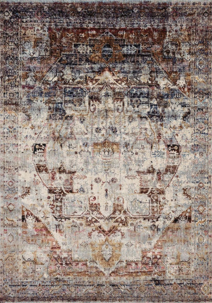 Black & Greys, Multi, Rugs, Transitional - Loloi Rugs ANASAF-08SLML2740 Loloi Anastasia Slate / Multi Area Rug | 885369251290 | Only $139.00. Buy today at http://www.contemporaryfurniturewarehouse.com