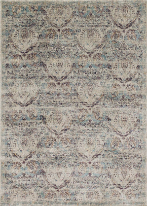 Black & Greys, Purples, Rugs, Transitional - Loloi Rugs ANASAF-05SIPL2740 Loloi Anastasia Silver / Plum Area Rug | 885369251245 | Only $139.00. Buy today at http://www.contemporaryfurniturewarehouse.com
