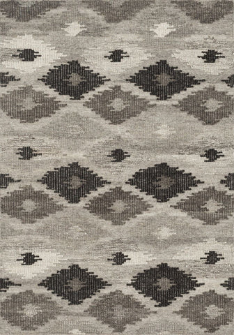 Loloi Akina Grey / Charcoal Area Rug