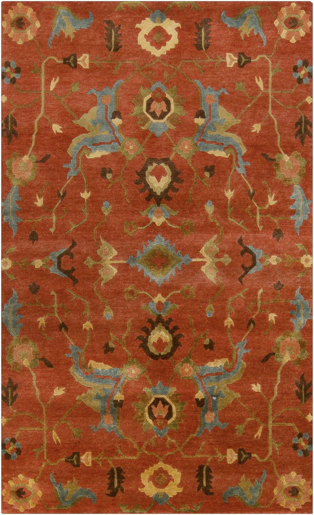 Anastacia Southwest Area Rug Orange