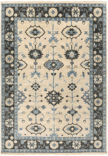 Antique Classic Area Rug Blue
