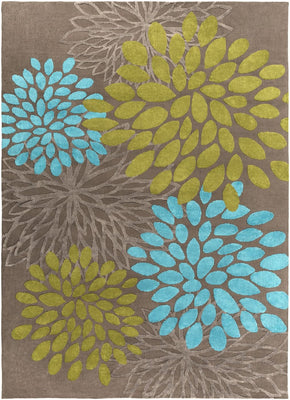 Abigail Kids Area Rug Blue Green