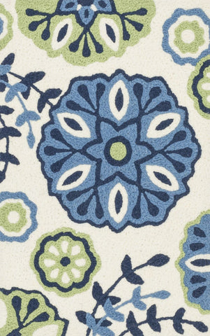 Loloi Angelou Blue / Green Area Rug