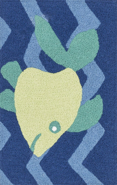 Loloi Angelou Blue / Yellow Area Rug