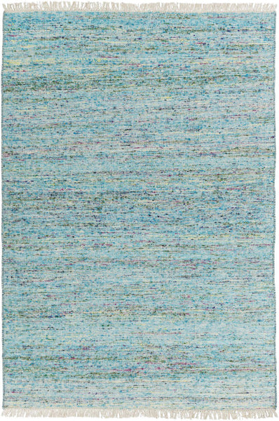 Rex Solids And Borders Area Rug Blue