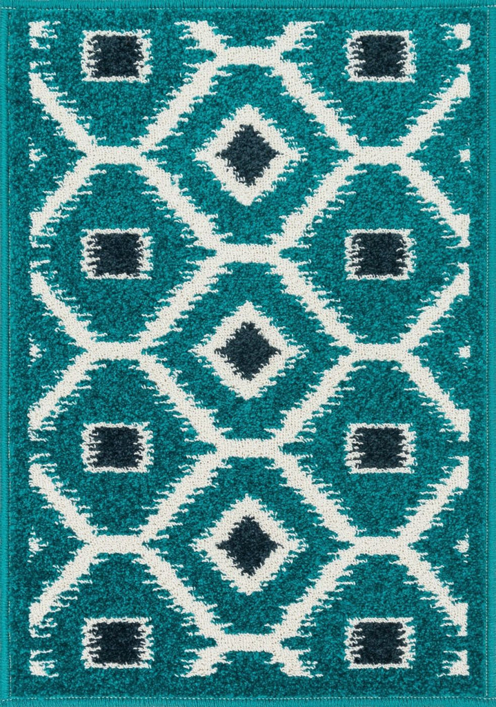 Loloi Terrace Teal / Navy Area Rug